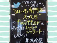 Twitter始めました!!